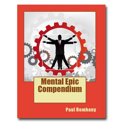 Mental Epic Compendium by Paul Romhany